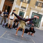 When in Rome… Enjoy some street dance