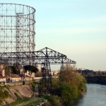 Industrial archaeology in Rome, Ostiense neighborhood and the old Gasometer