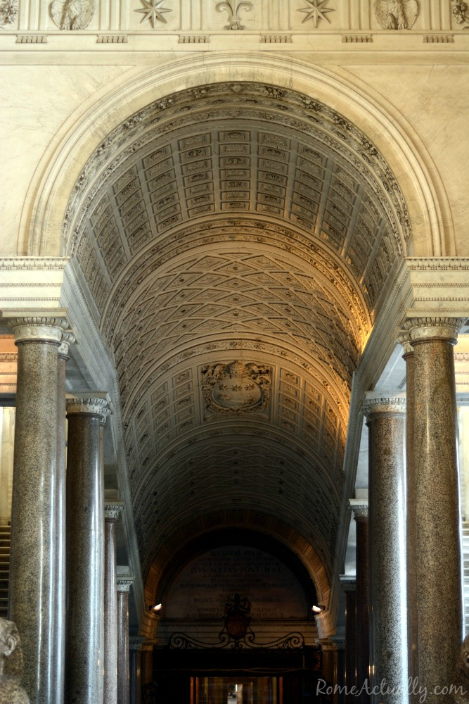 Entering the Vatican Museums