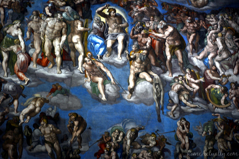 Sistine Chapel The Last Judgement by Michelangelo