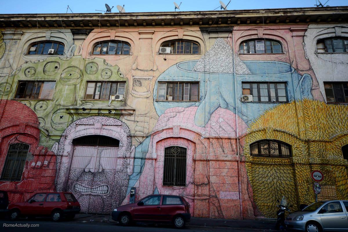 Image of Ostiense street art