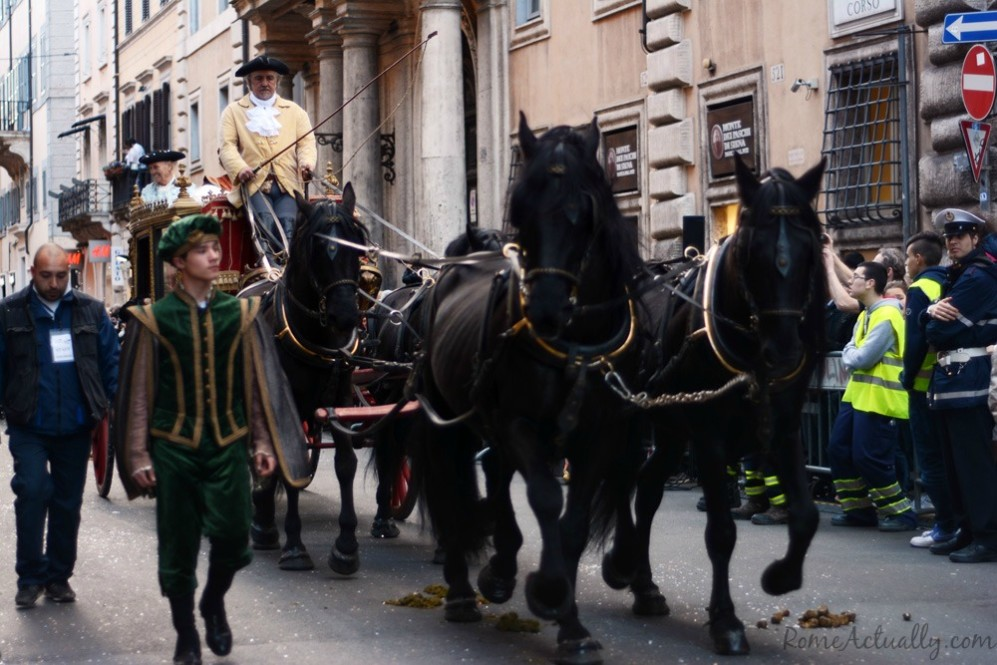 The Queen of Sweden carriage