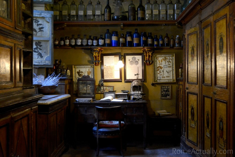Ancient pharmacy Santa Maria della Scala, a hidden gem in Rome