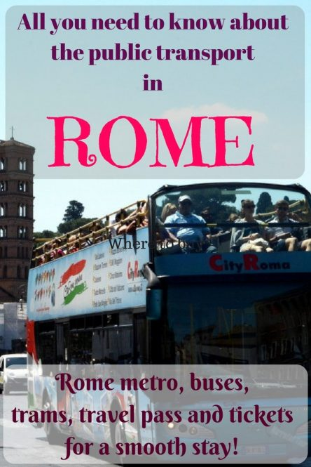 A complete guide to Rome public transport - Rome Actually