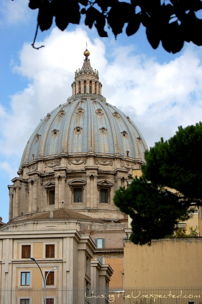 Visiting the Vatican City in Rome