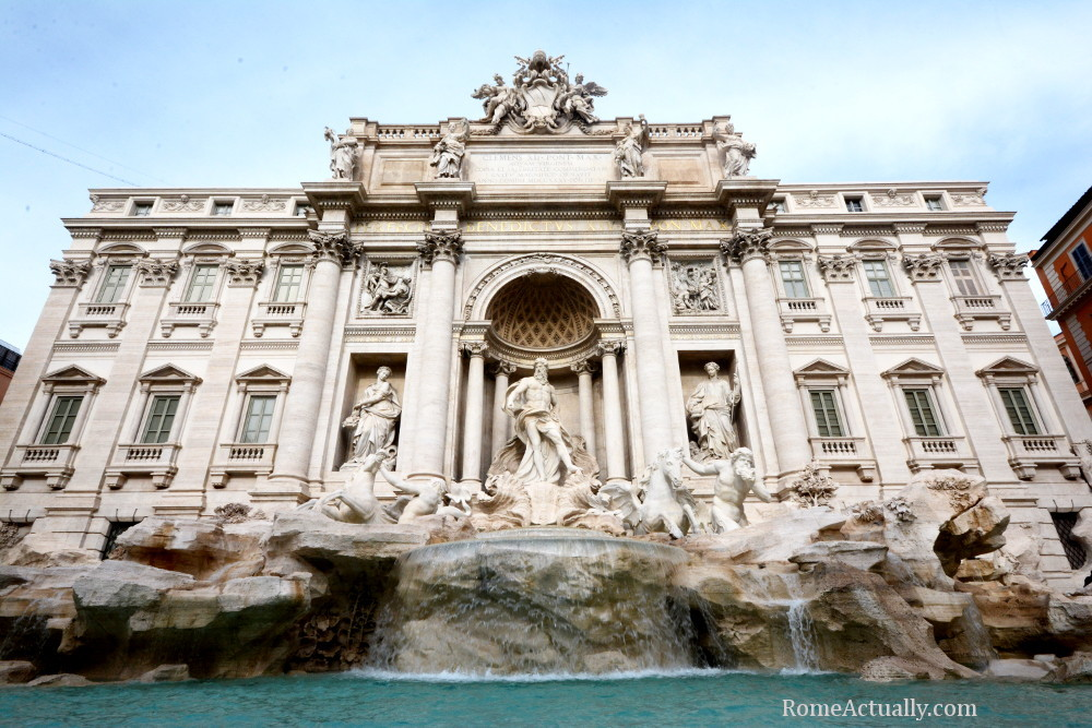 Image: Trevi Fountain in Rome