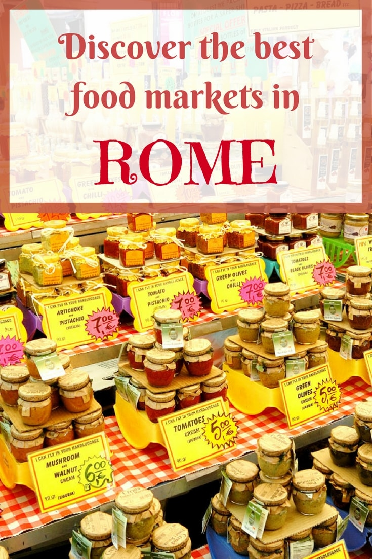 The best food markets in Rome