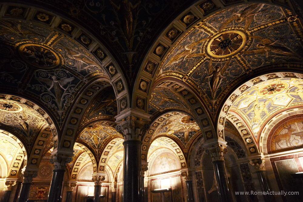 Hidden gems in Rome, Basilica di Santa Cecilia in Trastevere