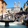 The Spanish Steps one of the most exclusive areas for great apartments in Rome