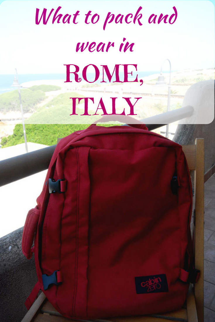 What to pack for Rome, essential Rome packing list