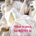 What to pack for summer in Rome, your guide to what to wear in Rome in August