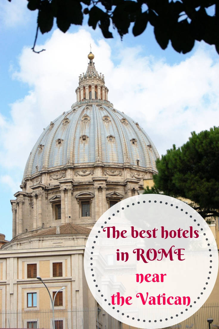 Find the best Rome hotels near Vatican City