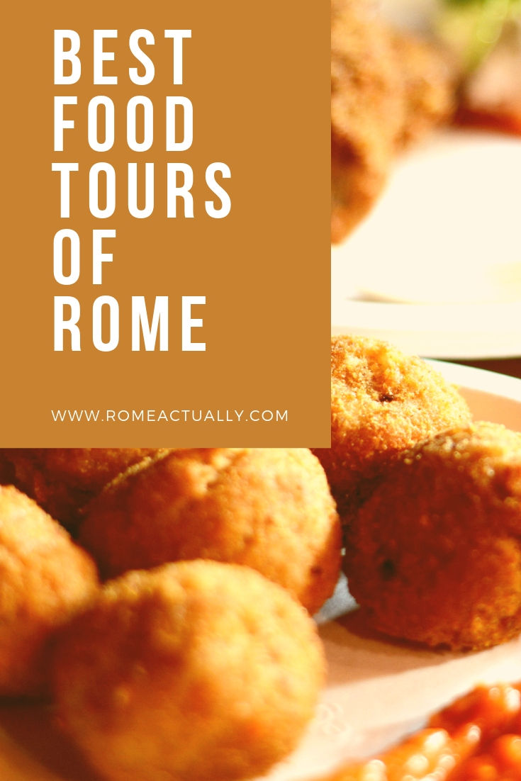 Top 10 food tours of Rome to taste Roman food and learn how to cook it