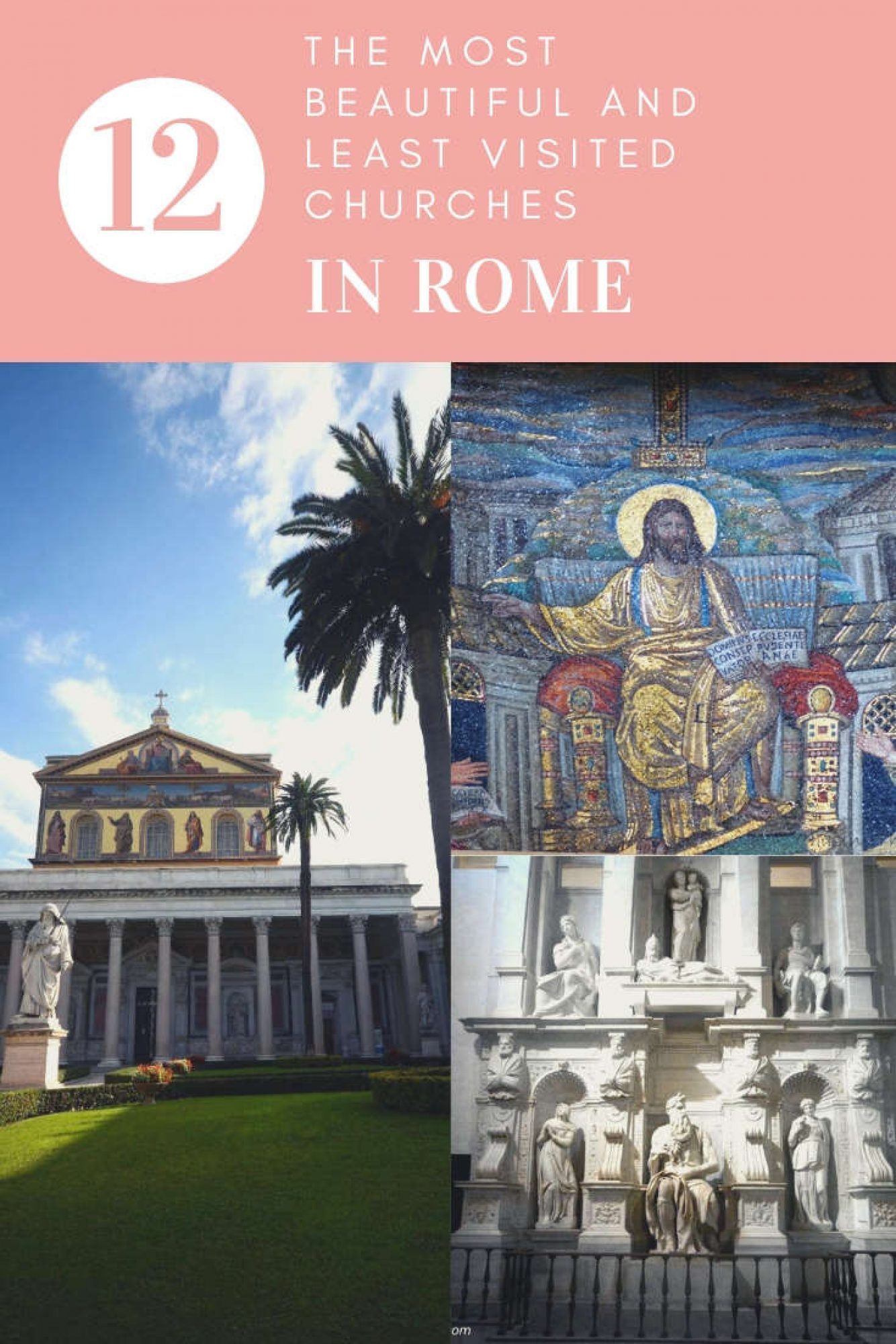least visited churches in rome