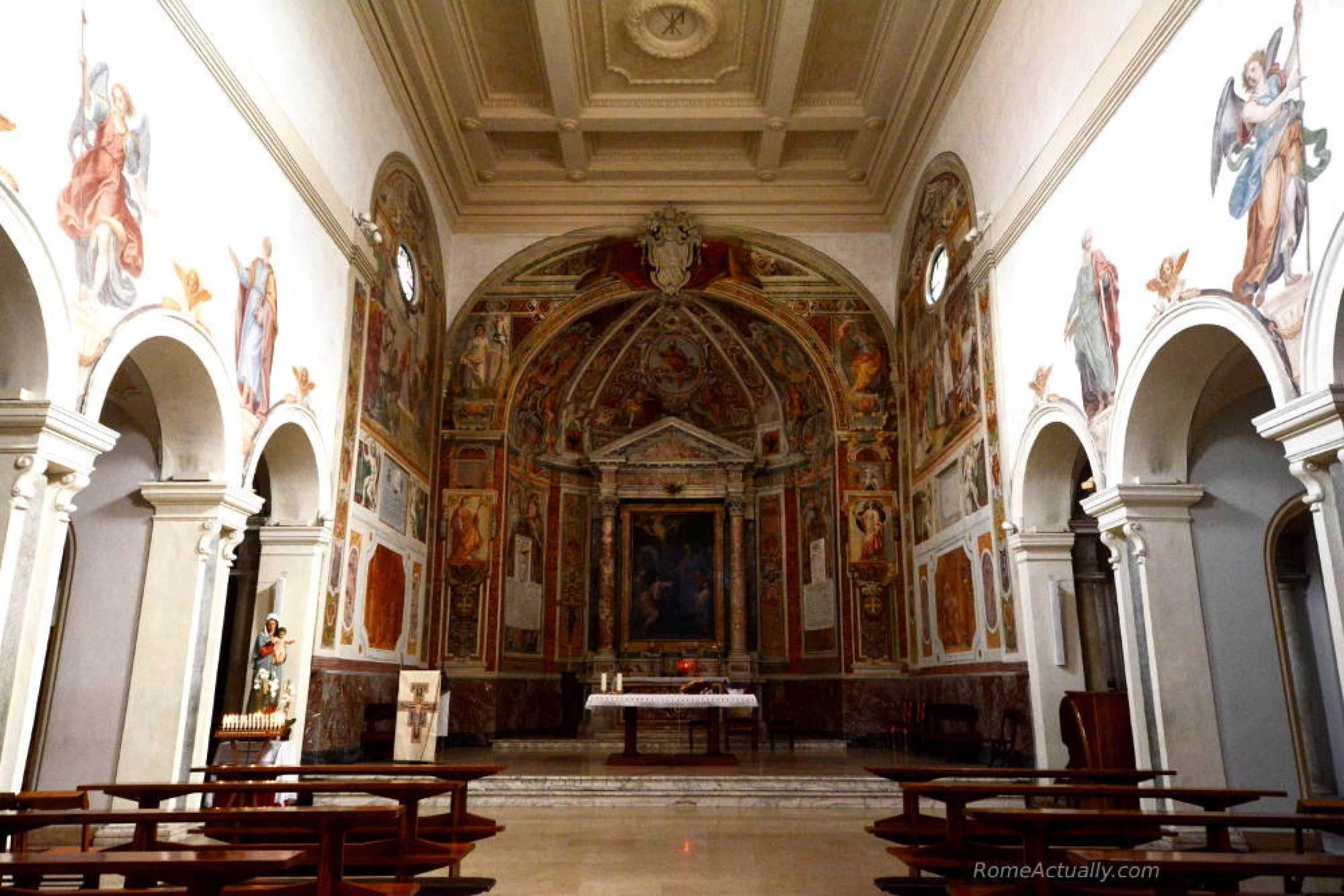 santa prisca church rome
