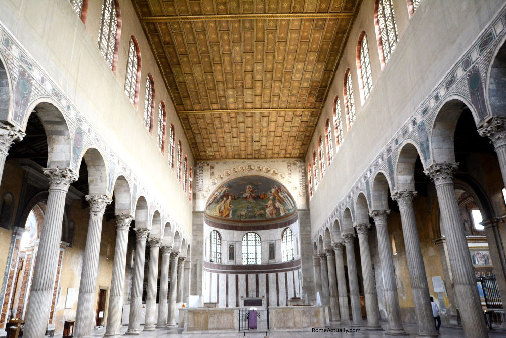 Image of Santa Sabina church in Rome