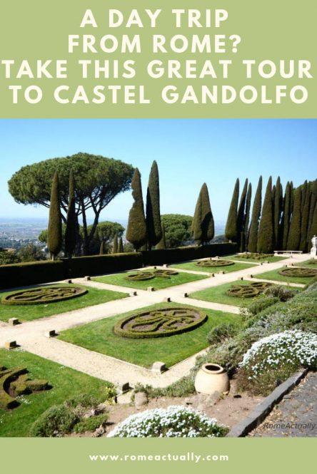 castel gandolfo from rome tour