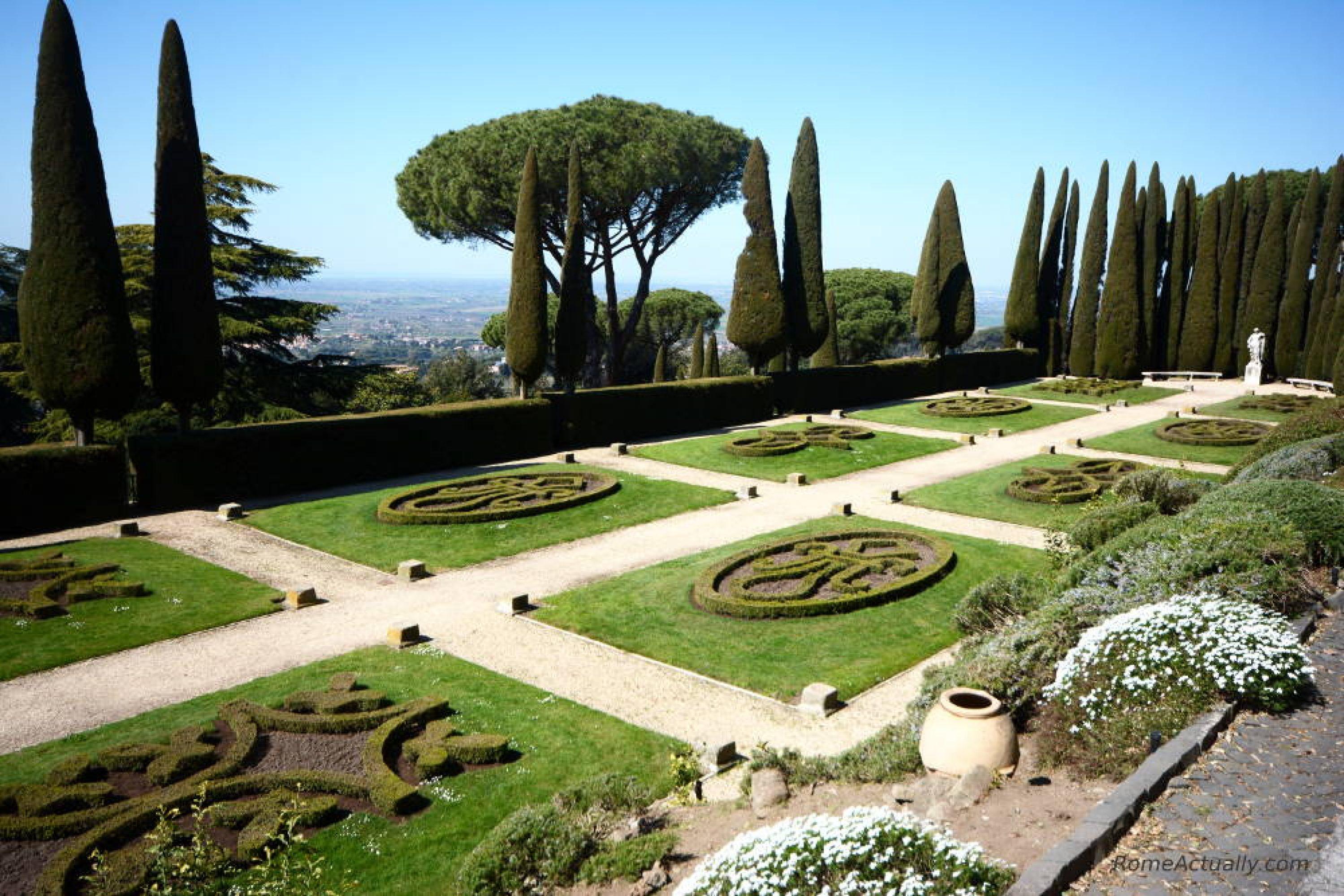 Barberini Gardens Castel Gandolfo