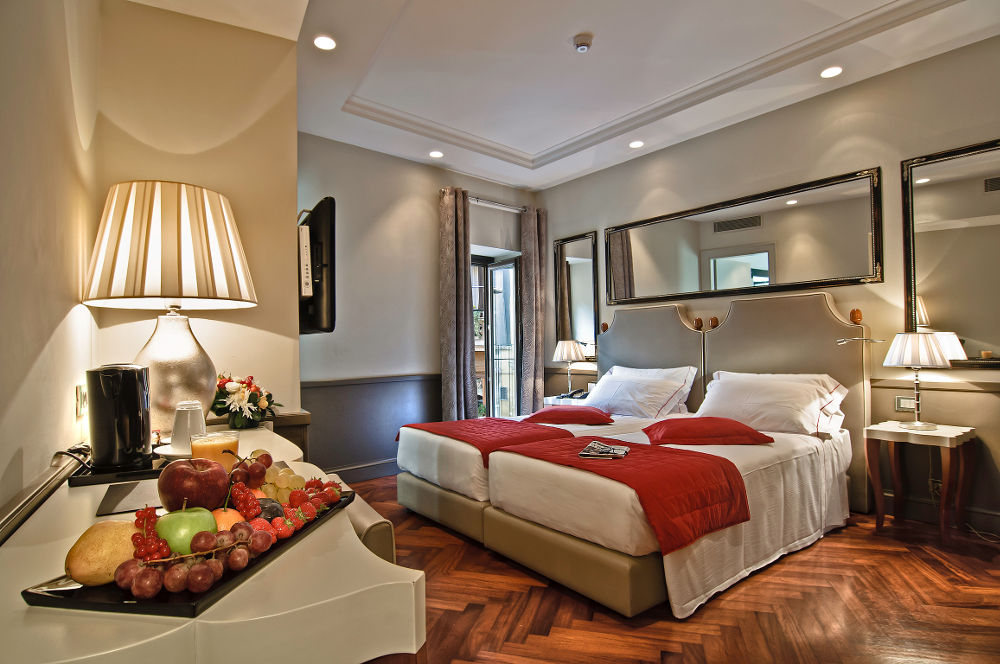 Image: Lunetta boutique hotel in central Rome