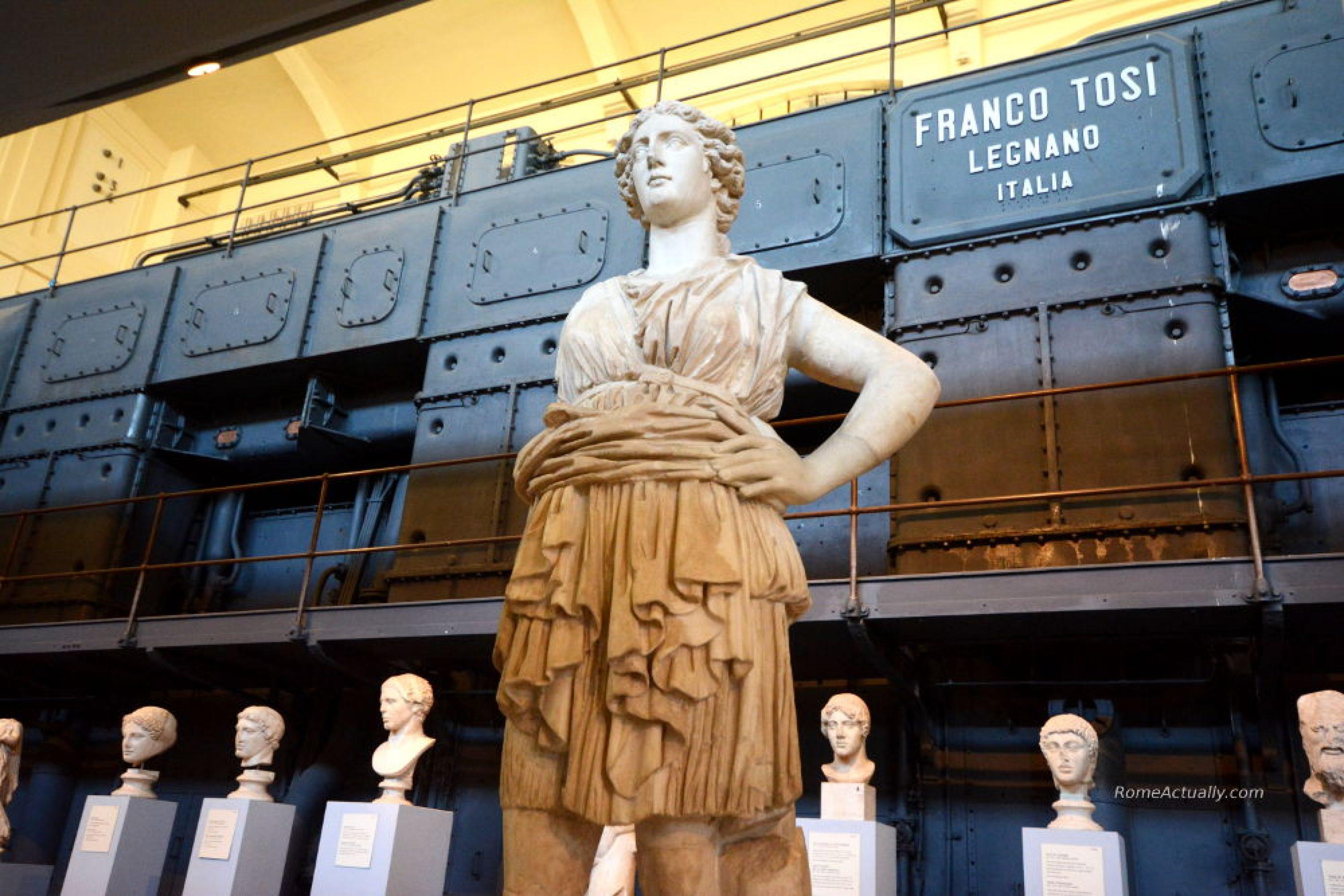 Centrale Montemartini Museum statues