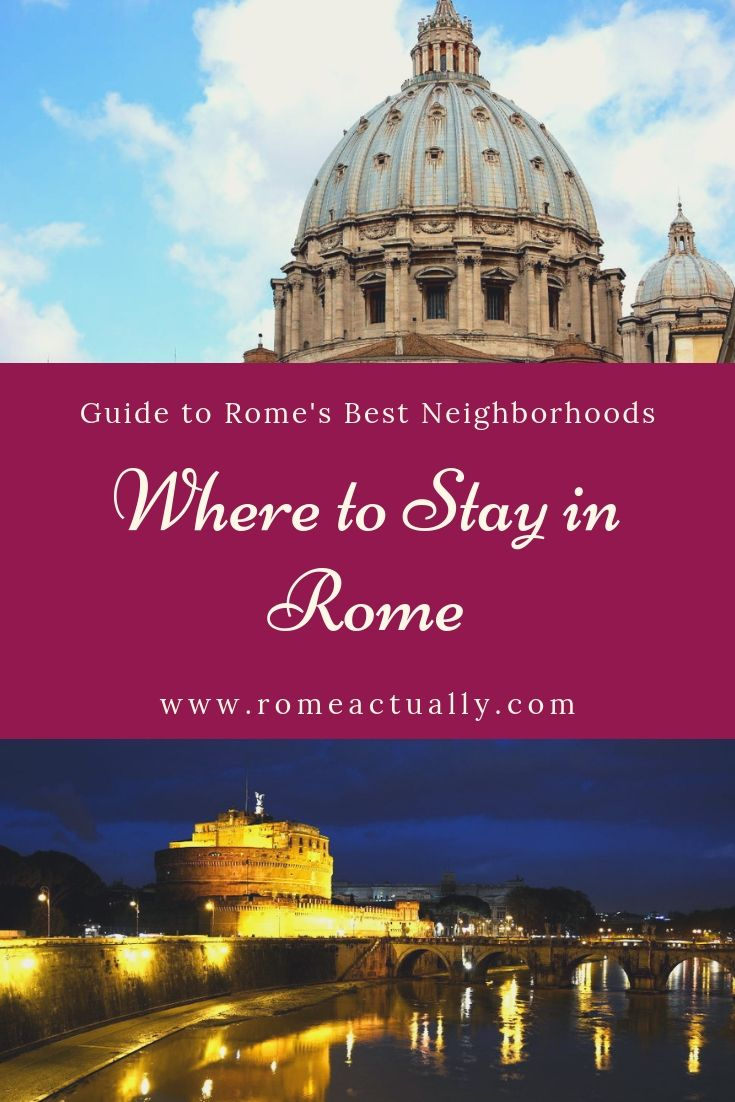 guide to rome neighborhoods
