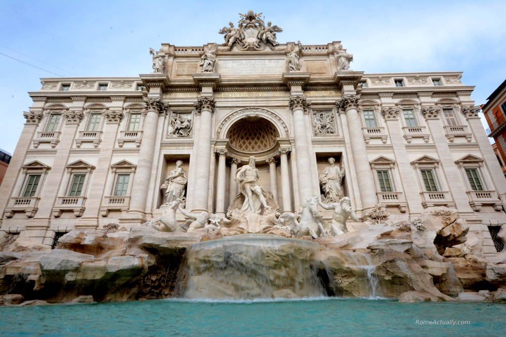 trevi fountain rome in a day