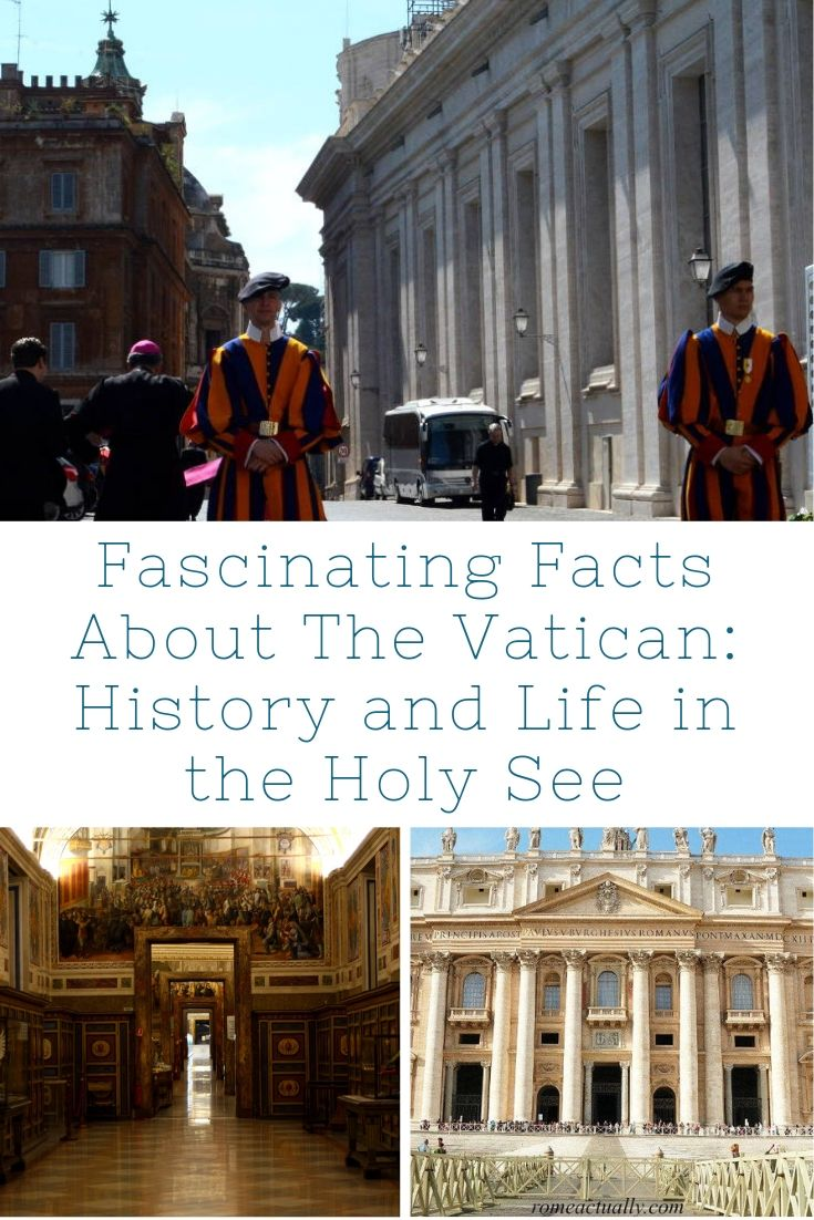 facts about the vatican in roma