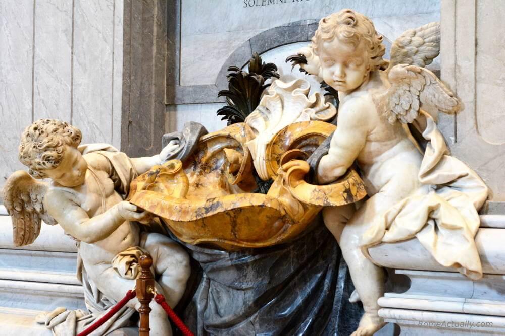 St. Peter's Basilica statue