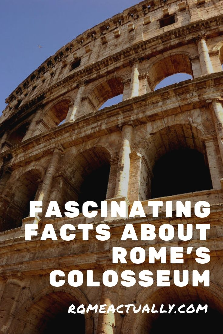 roman colosseum facts and history