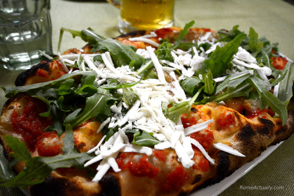 Image of pizza in Rome