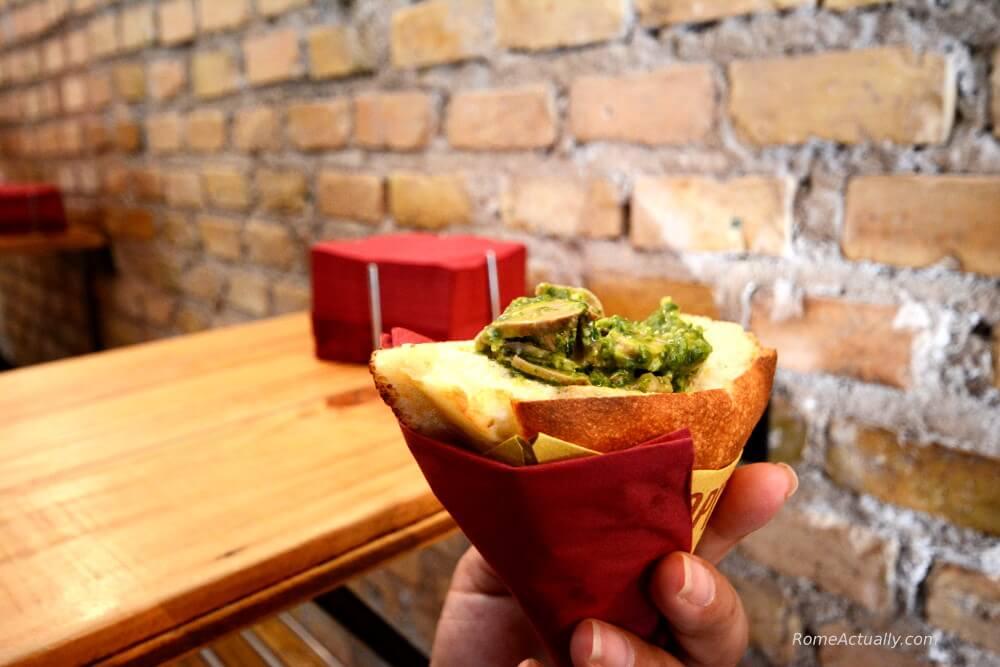 trapizzino rome street food