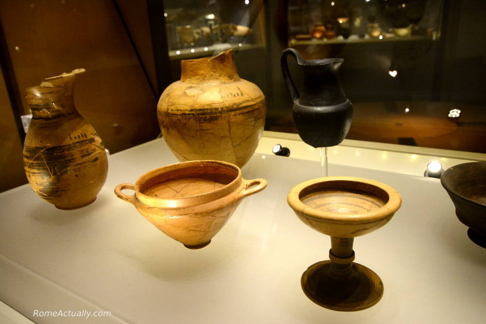 objects at Museo Nazionale Romano