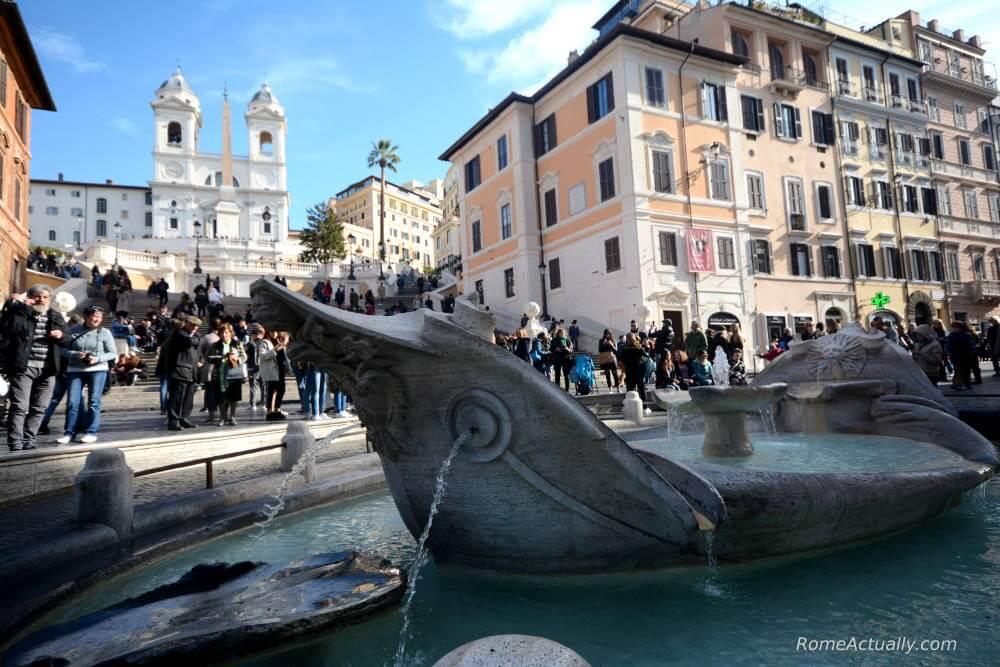 Image: Spanish Steps in Rome