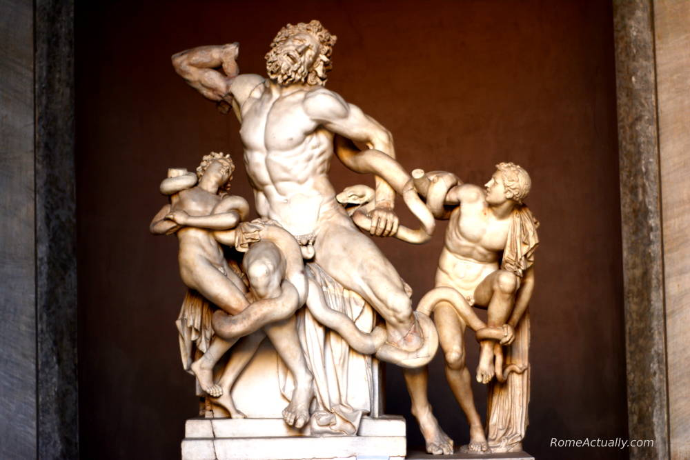 laocoon and his sons vatican museums
