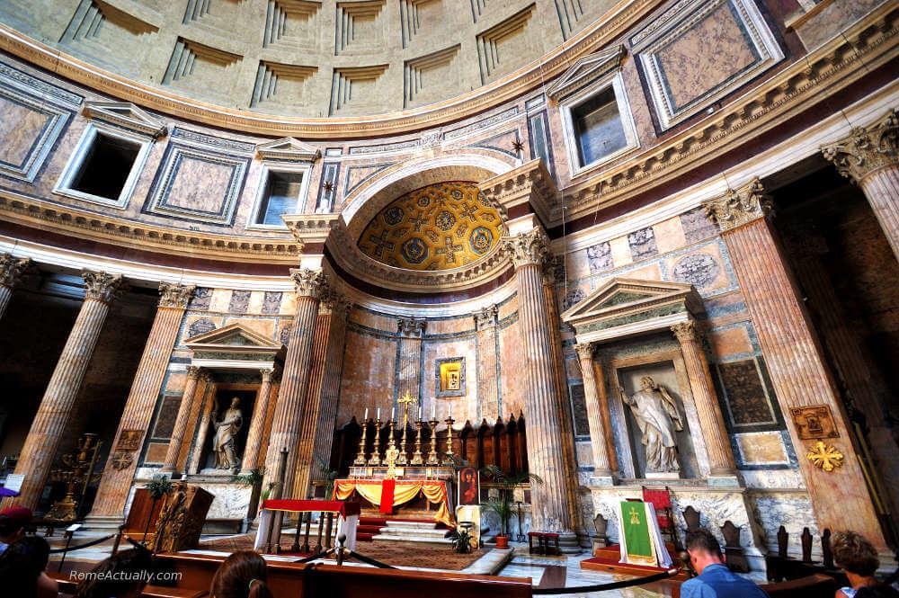 pantheon rome in 2 days