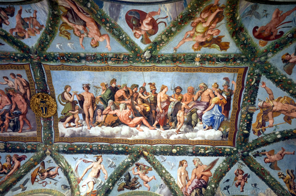 raphael frescoes villa farnesina things to see in trastevere