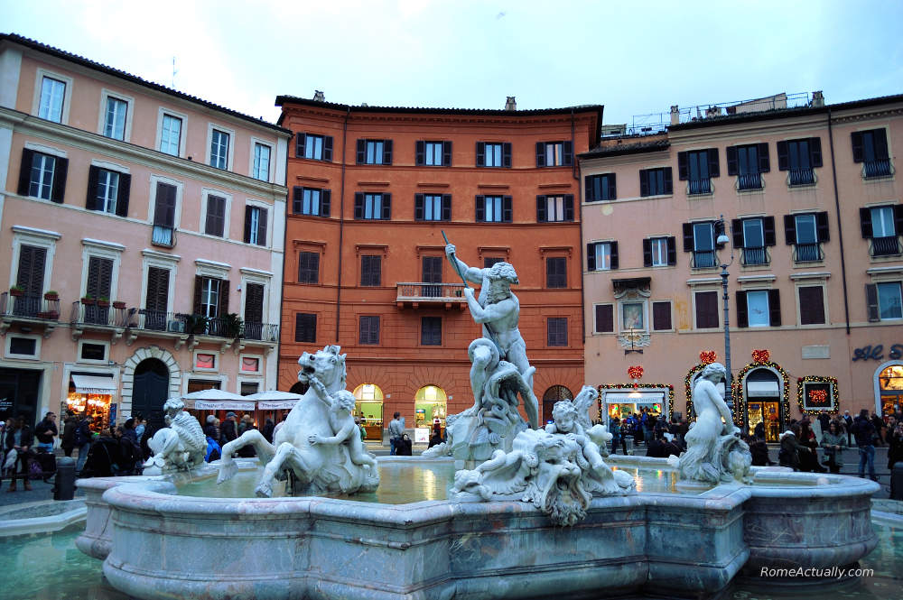 moor fountain piazza navona