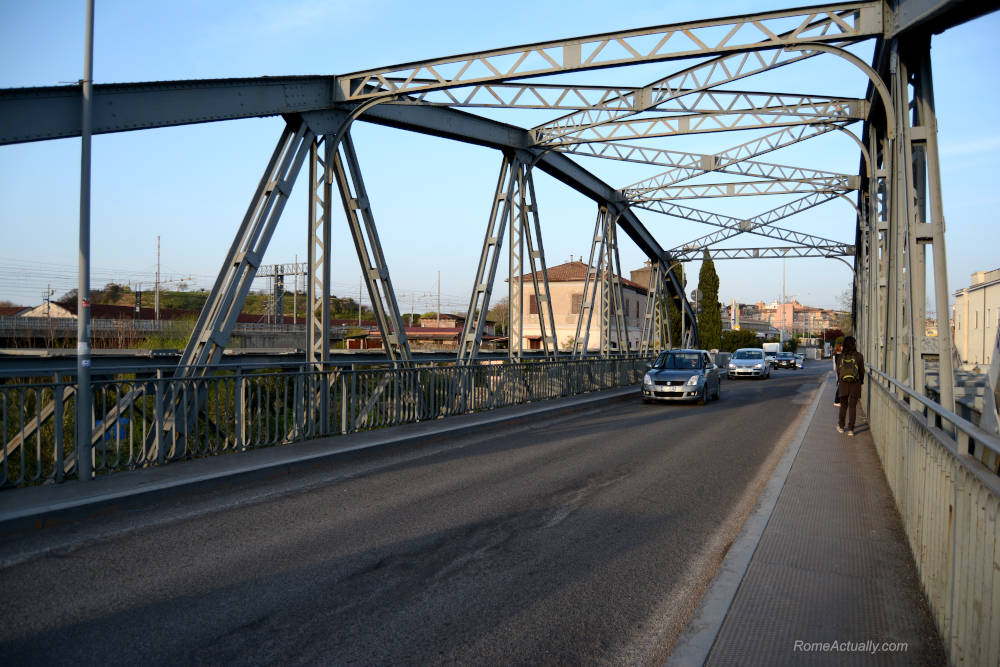 Image of Ponte dell'Industria in Rome