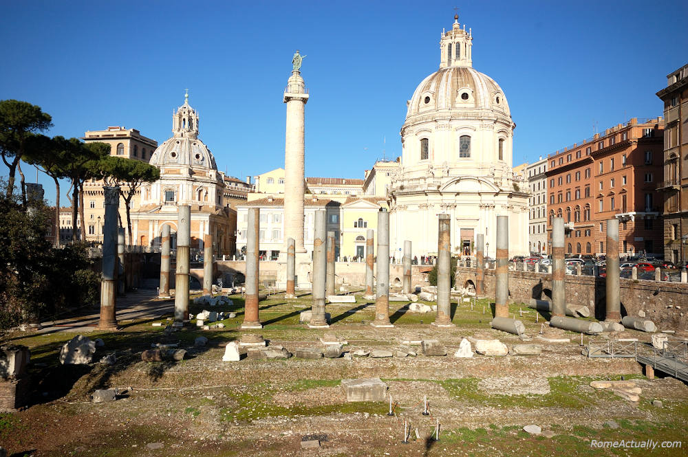 Image of Rome's Fori Imperiali