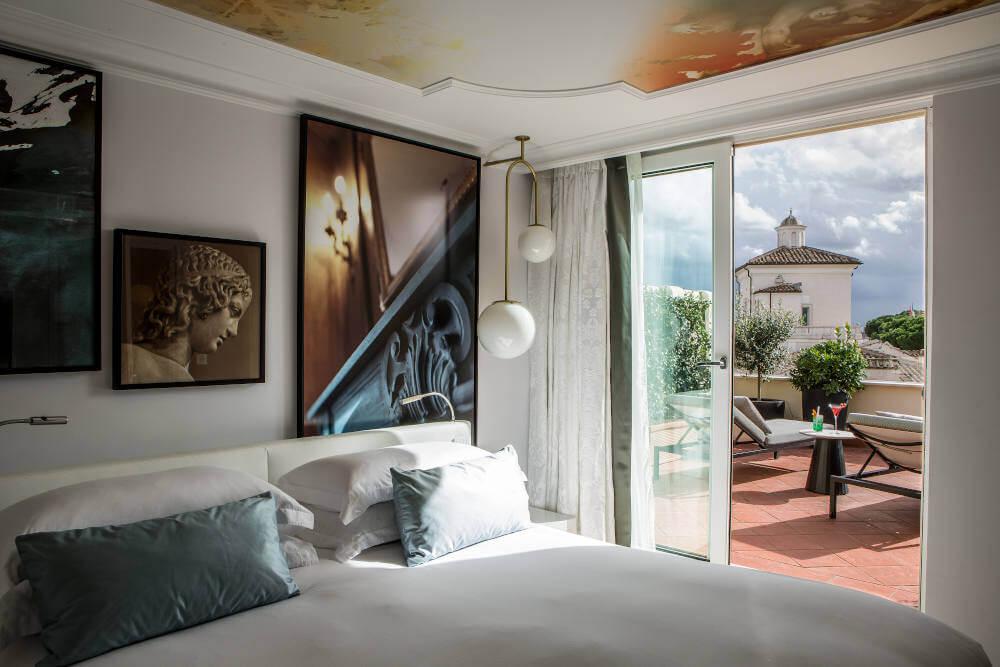 Image: Sofitel Rome Villa Borghese  luxury hotel in Rome