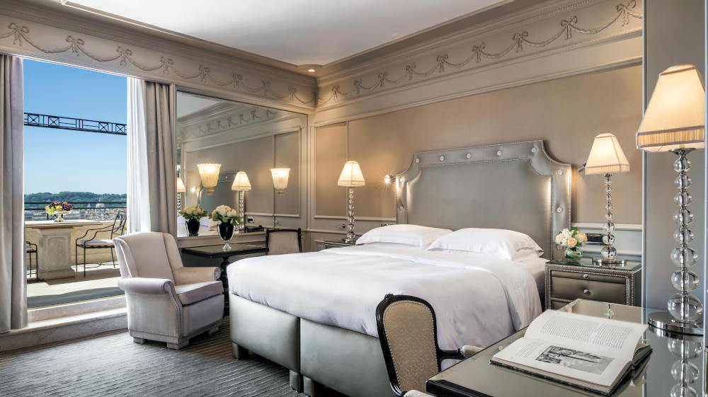 Image: Hassler 5-star hotel in Rome