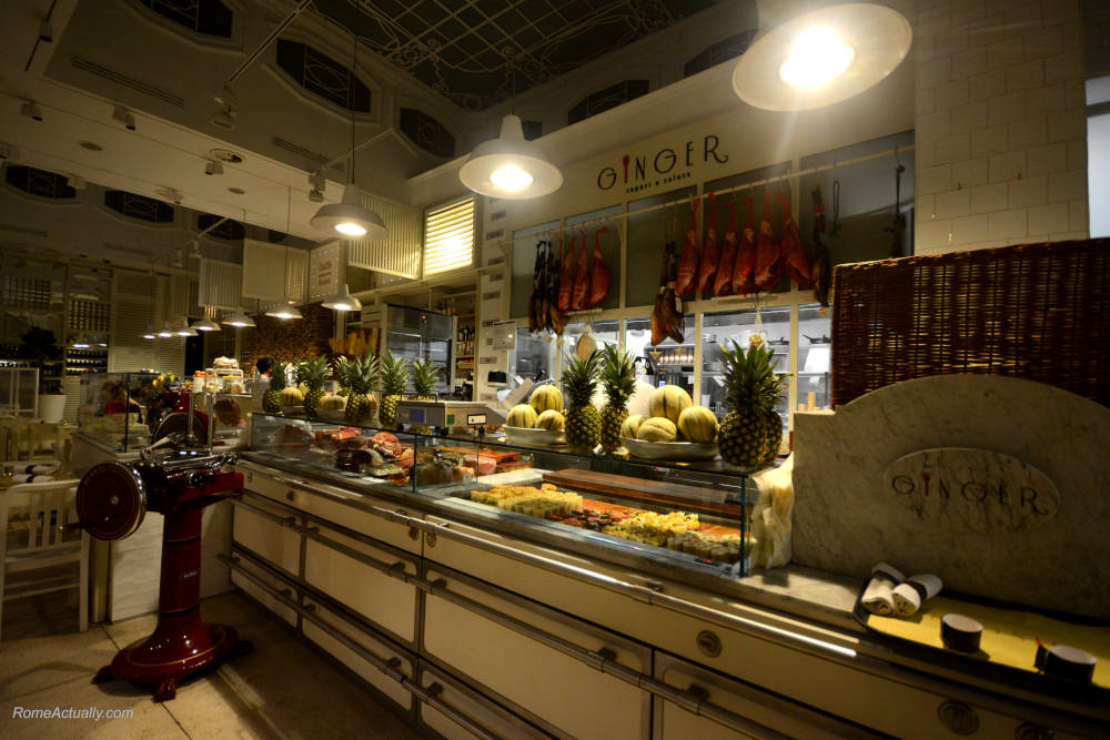 Image: Ginger Sapori e Salute one of the best restaurants in Rome
