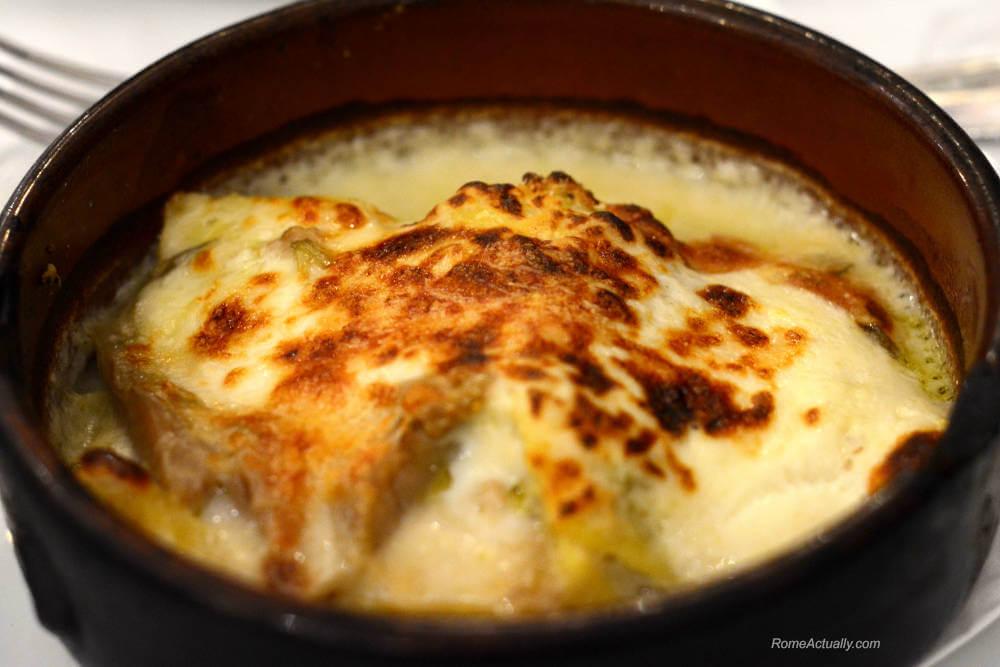 Image: Artichoke lasagna