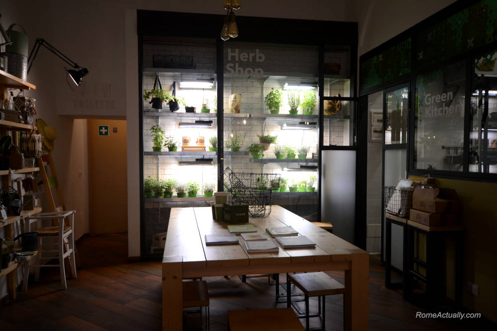 Image: Aromaticus restaurant in Trastevere