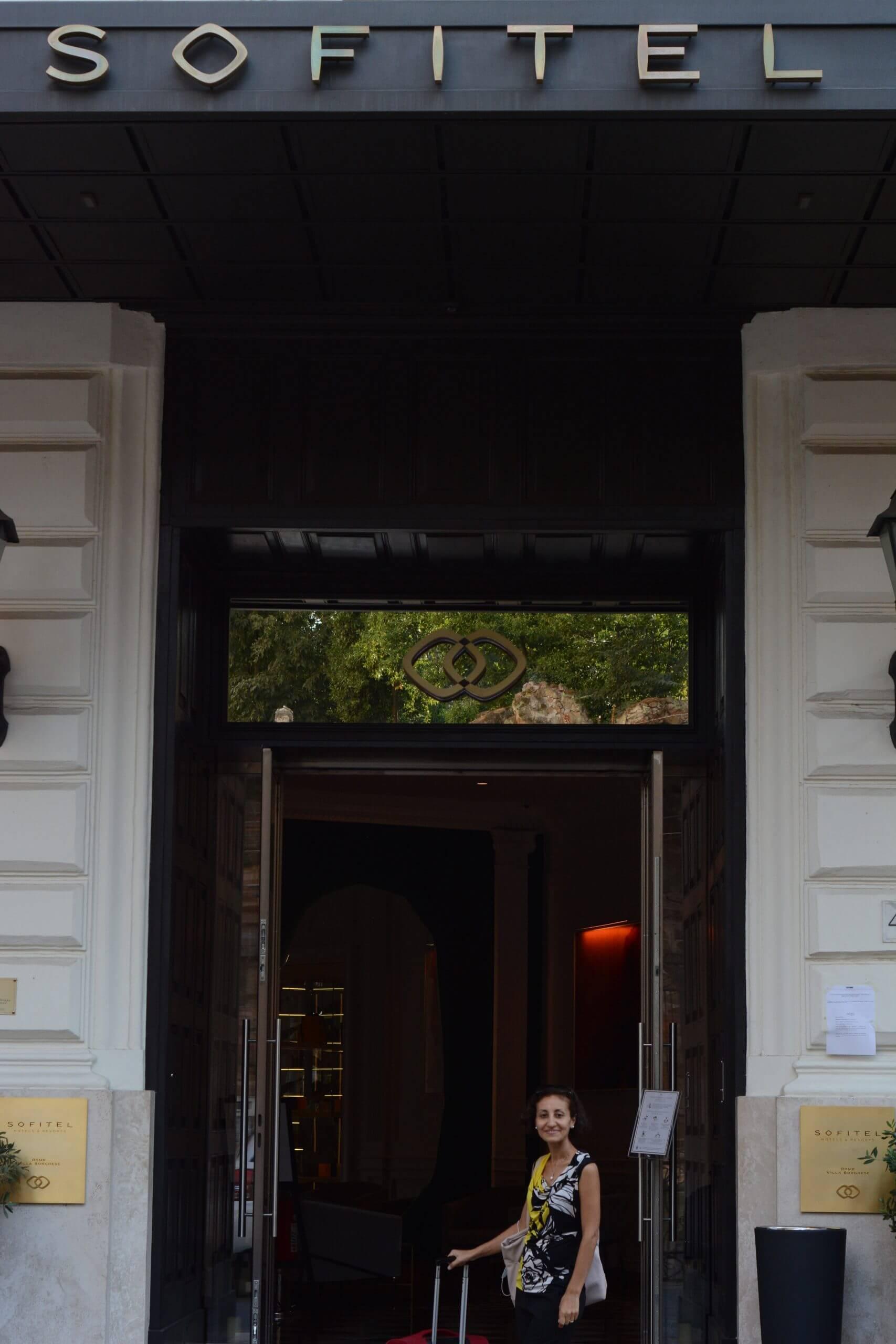 Entrance: Lobby of Sofitel Rome Villa Borghese