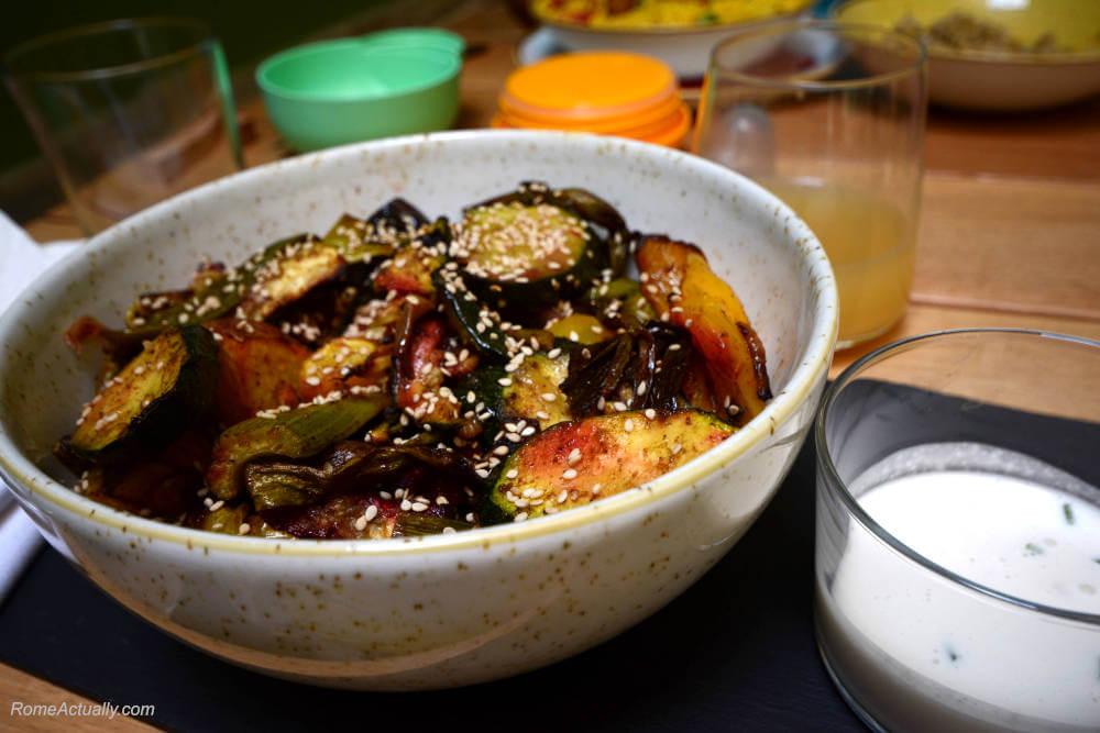 Image: Farro bowl at Aromaticus restaurant