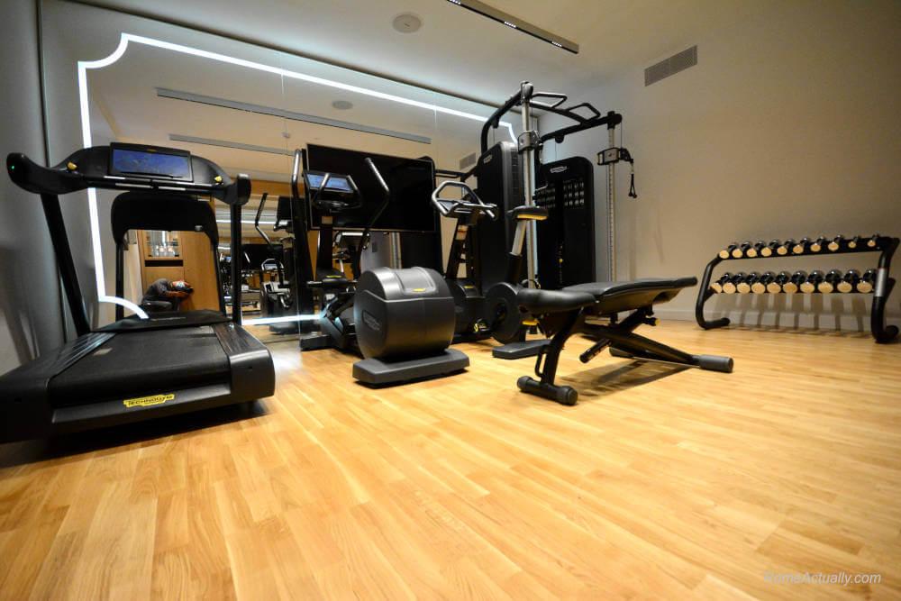 Image: Fitness center of Sofitel Rome Villa Borghese 5-star hotel