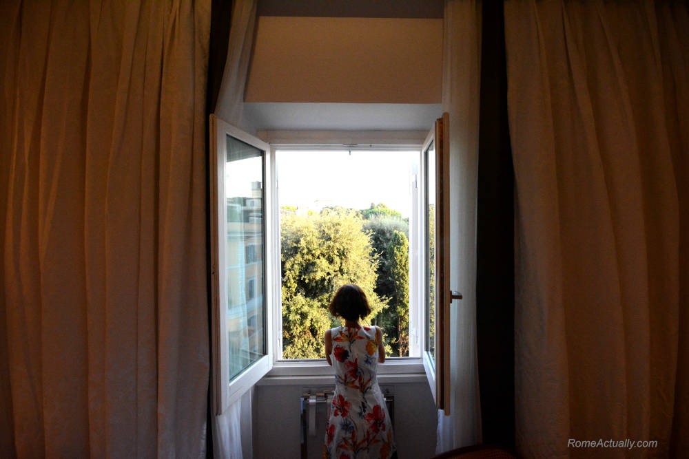 Image: Room view at Sofitel Rome Villa Borghese