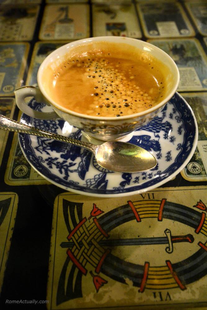 Image: Espresso at Coromandel in Rome