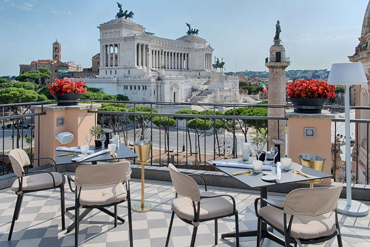 Image: NH Collection Roma Fori Imperiali best hotels in Rome near the Trevi Fountain